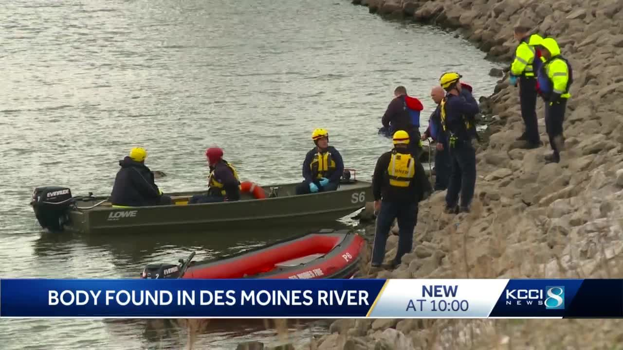 Law enforcement recovers body from Des Moines River