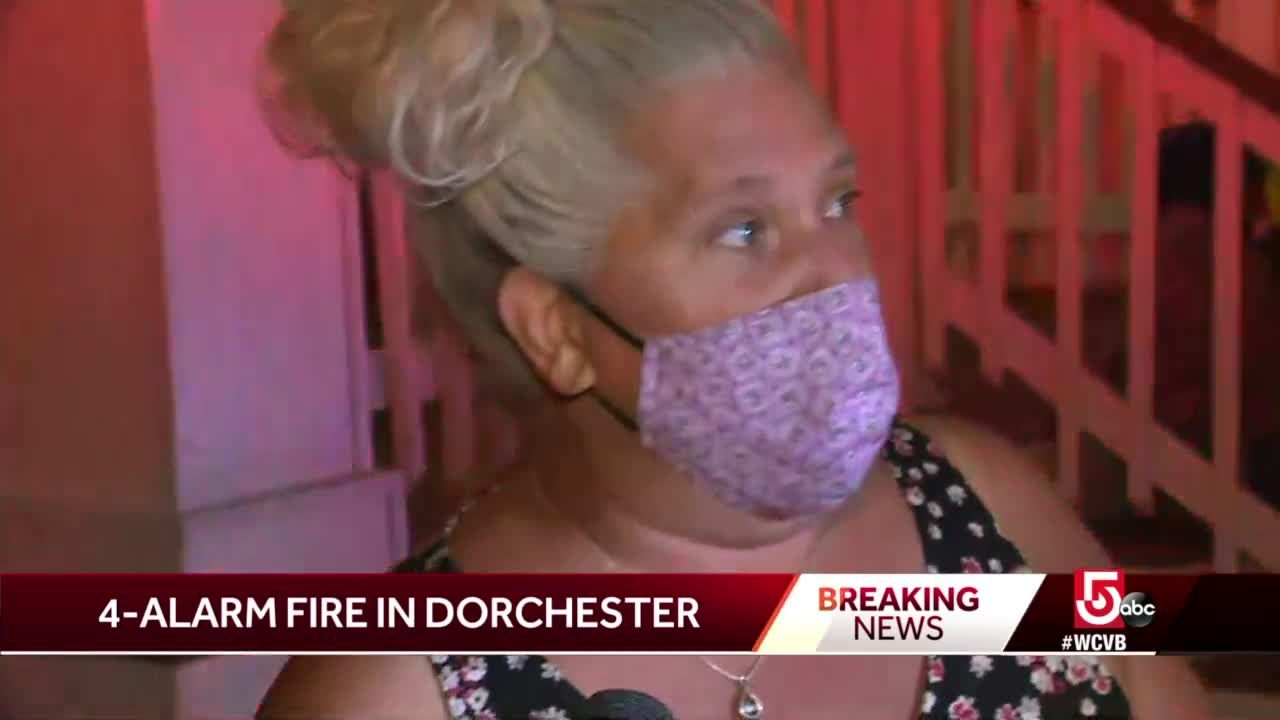 'Sounded like gunshots,' woman who escaped fire says