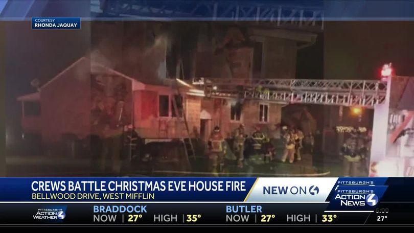 Christmas Eve Bar West Mifflin Pa 2020 Crews battle Christmas Eve house fire in West Mifflin