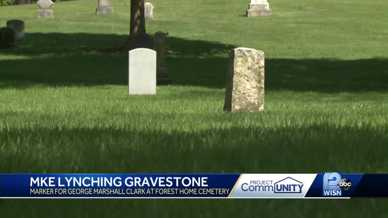 Milwaukee's only lynching victim to finally get gravestone