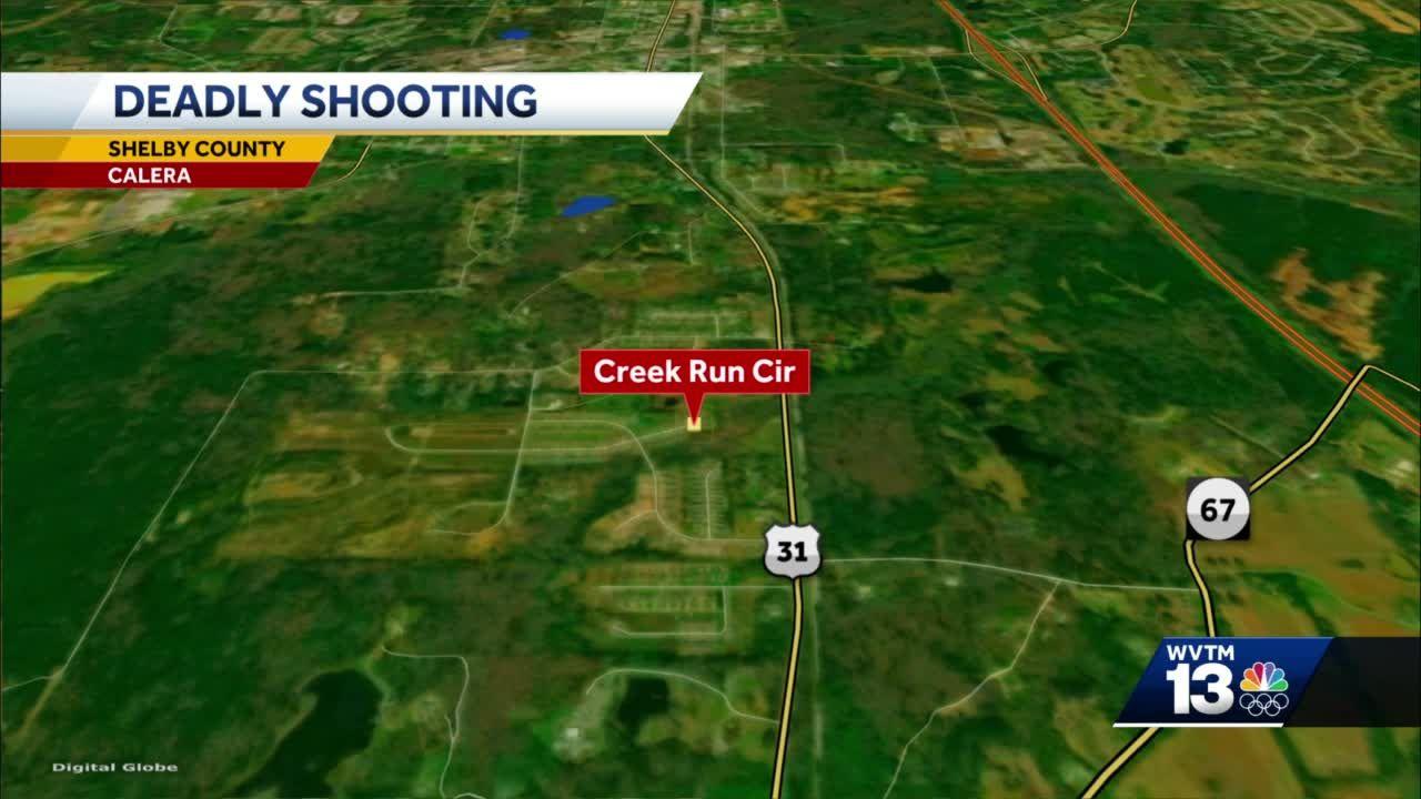 Shooting in Calera leaves 1 dead, 1 in custody