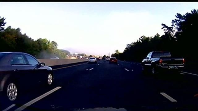 Dashboard camera captures video of fatal I-93 crash in New Hampshire
