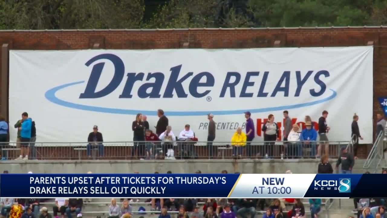 Some parents won't watch kids compete after Drake Relays sells out