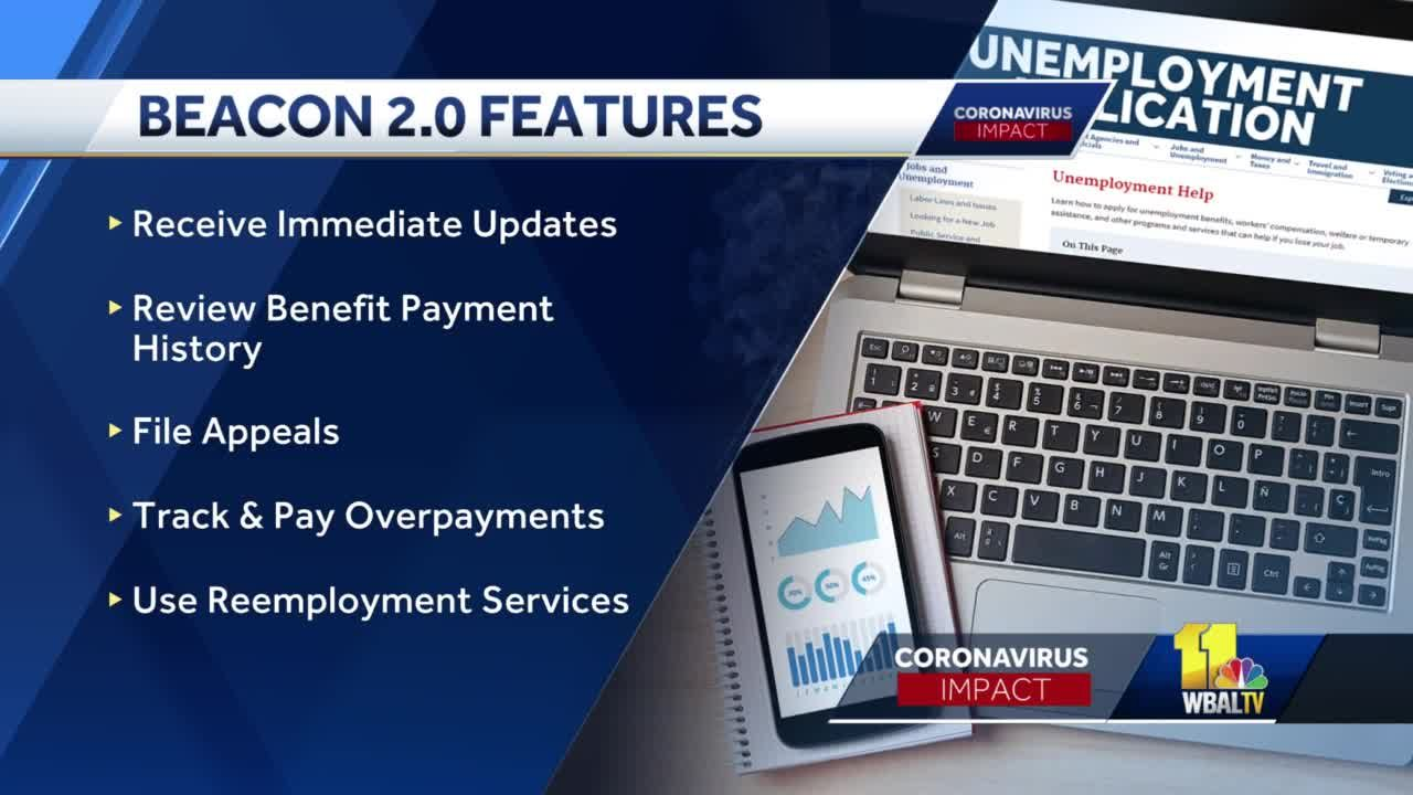 Maryland launches BEACON 2.0 unemployment website