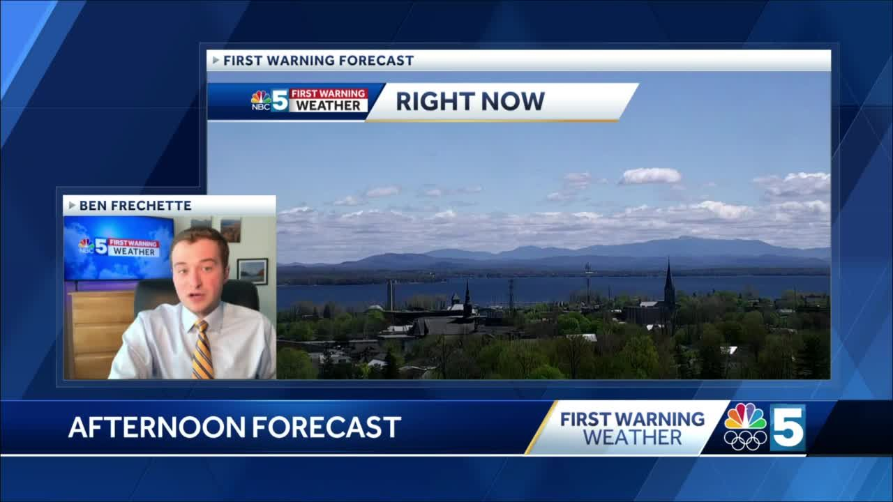 Video: Sunny Thursday afternoon! (5-6-21)