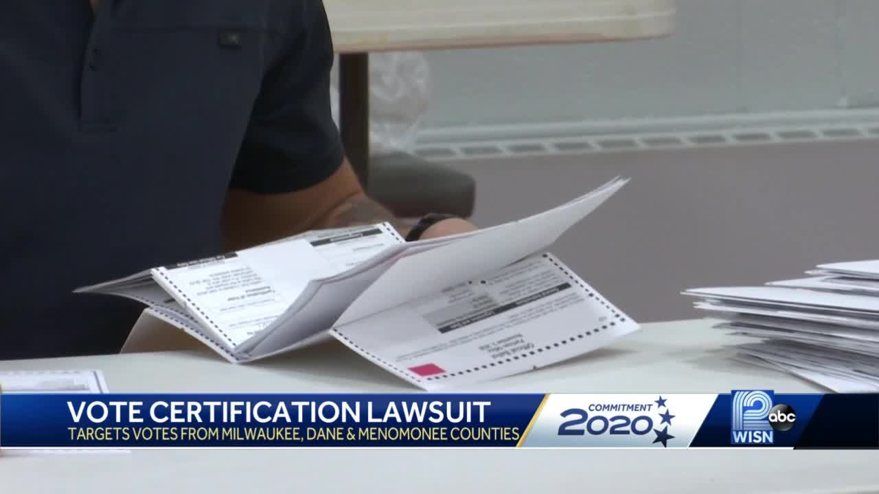 Voters file lawsuit to exclude ballots in three Wisconsin counties
