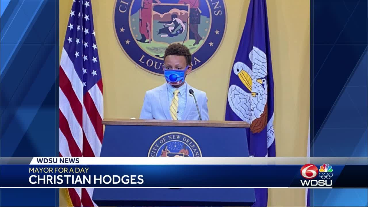 12-year-old Lusher student passionate about recycling is New Orleans mayor for the day