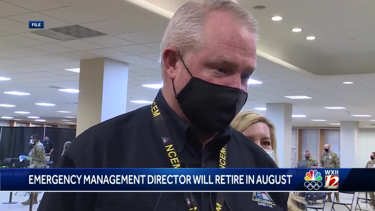 North Carolina Emergency Management director Mike Sprayberry announces retirement