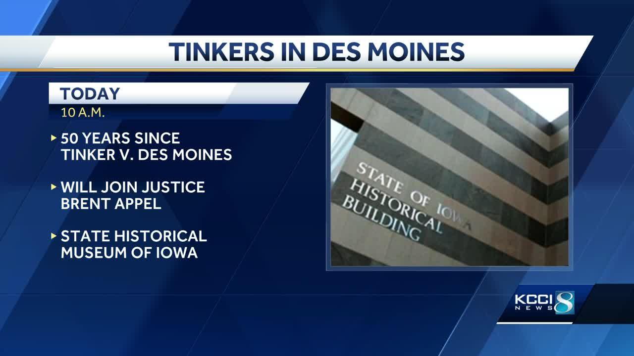 Events mark 50th anniversary of landmark Tinker vs  Des Moines ruling