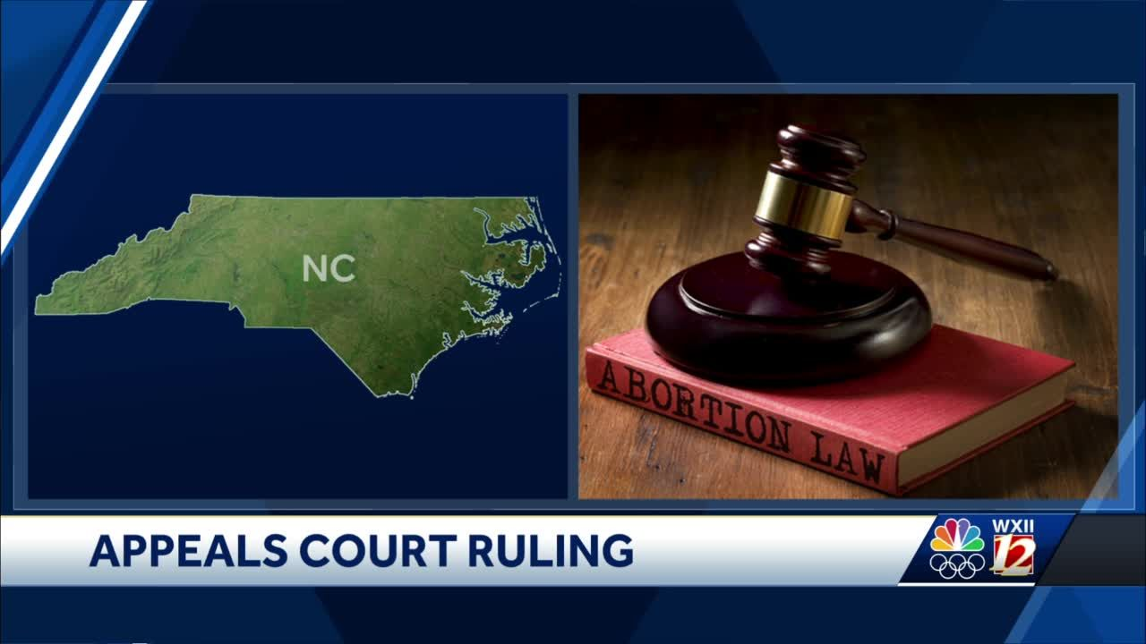 North Carolina abortion ban struck down in federal appeals court