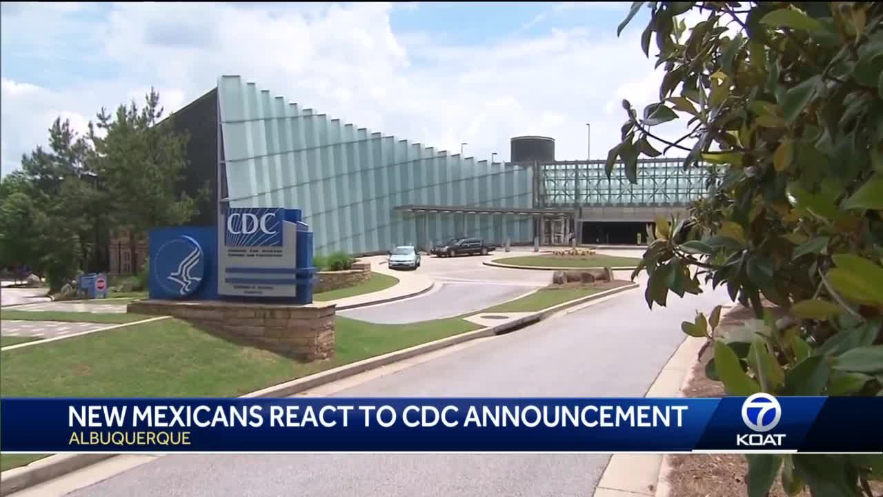 New Mexican's react to no more masks announcement from CDC