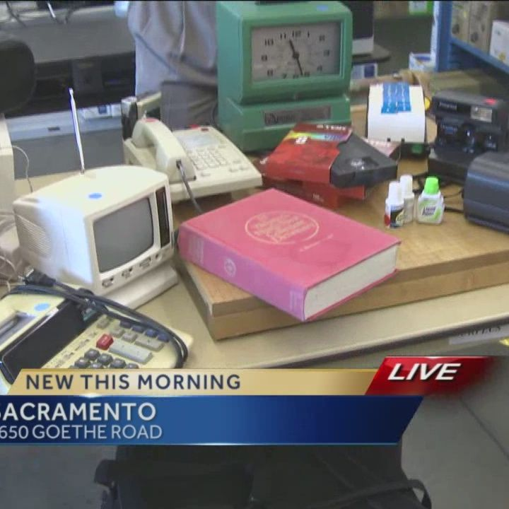 Sacramento surplus sale offers cheap office supplies
