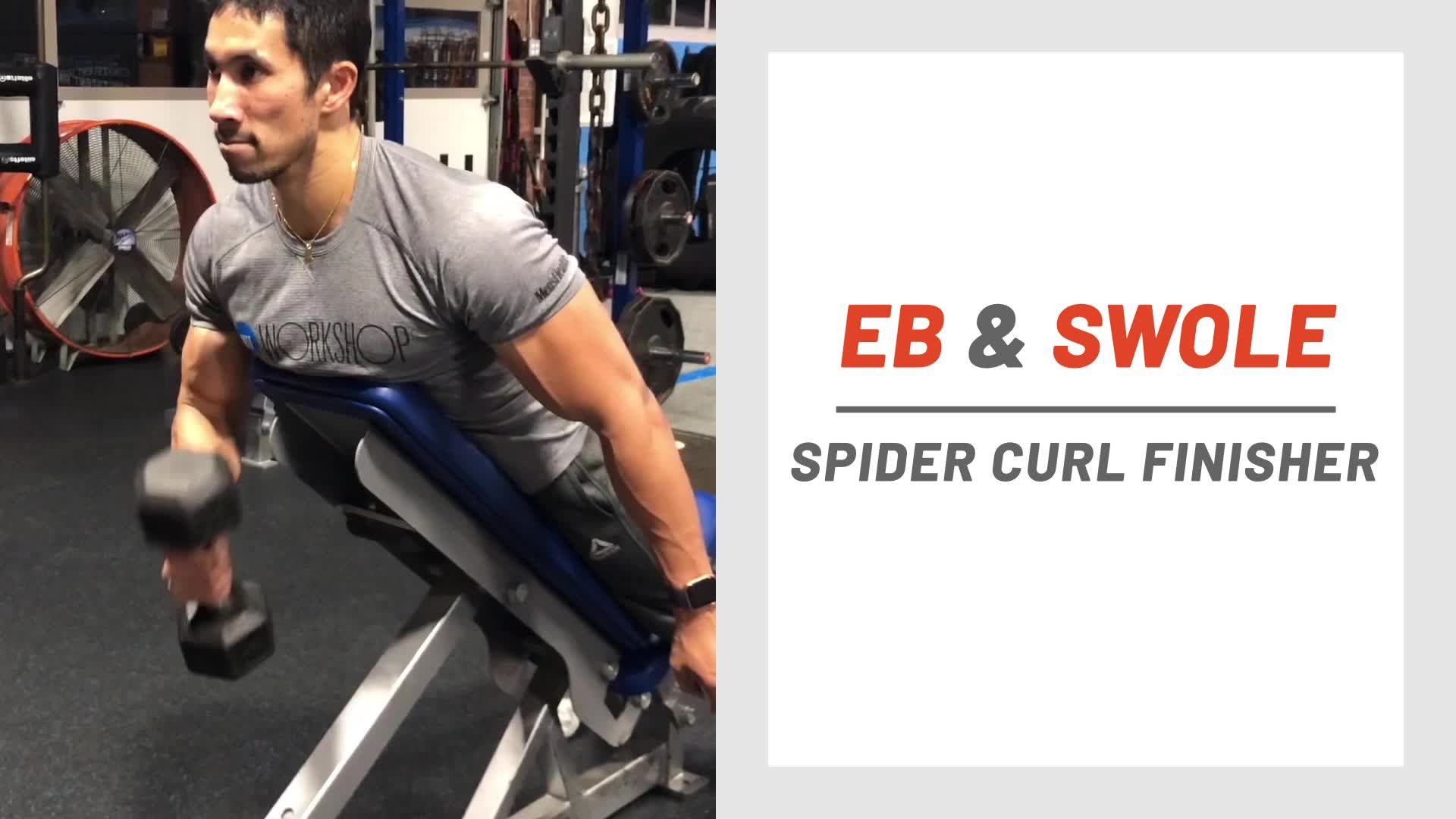 Get a Super-Quick Pump With This 4-Minute Biceps Finisher