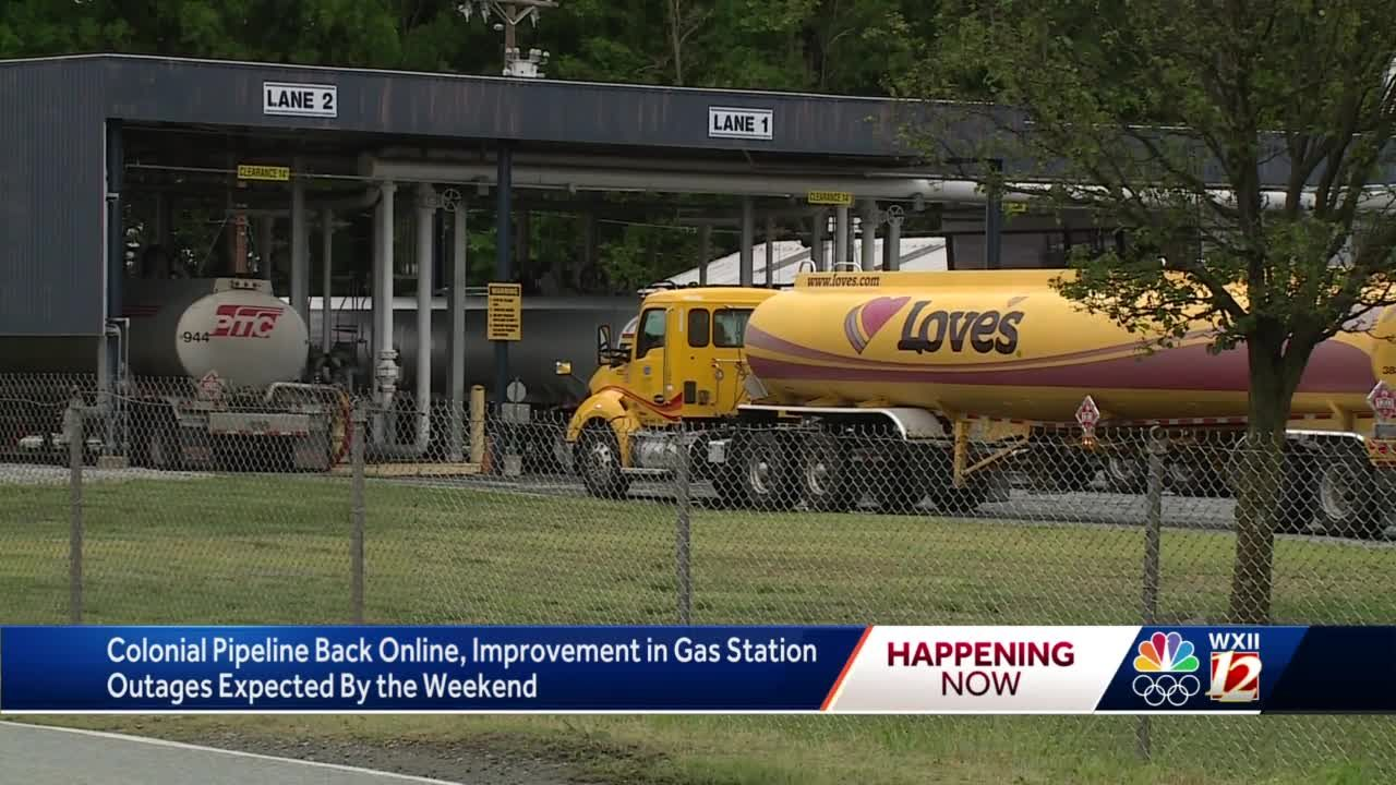 North Carolina: Only about a quarter of the state's gas stations have fuel Thursday morning