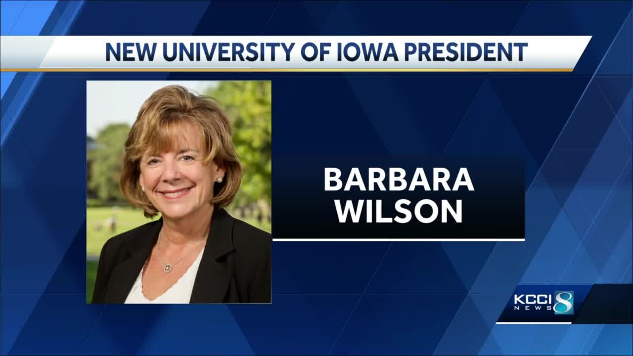Barbara Wilson named new University of Iowa president