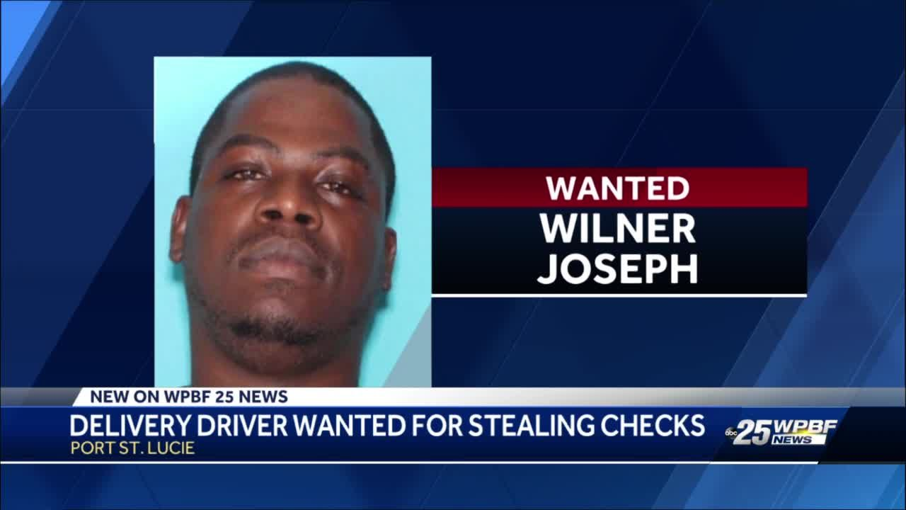 Delivery driver wanted for stealing checks