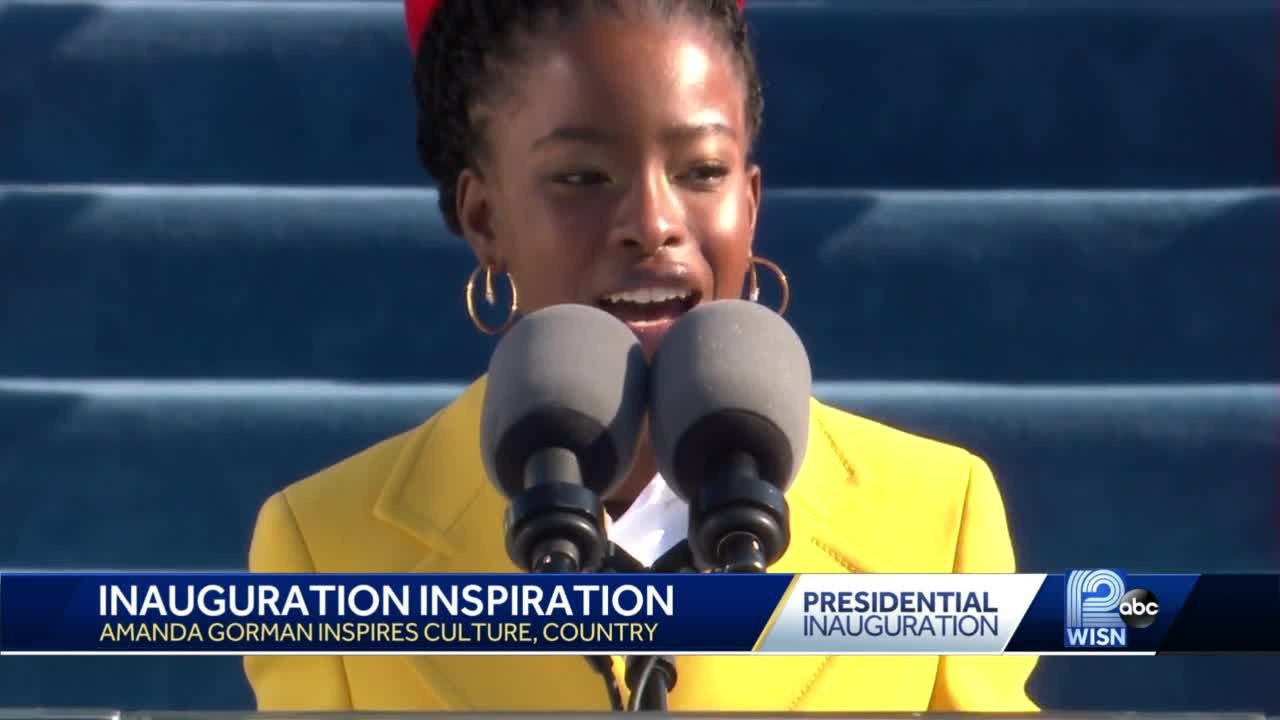 22 year-old delivers powerful poem on Inauguration Day