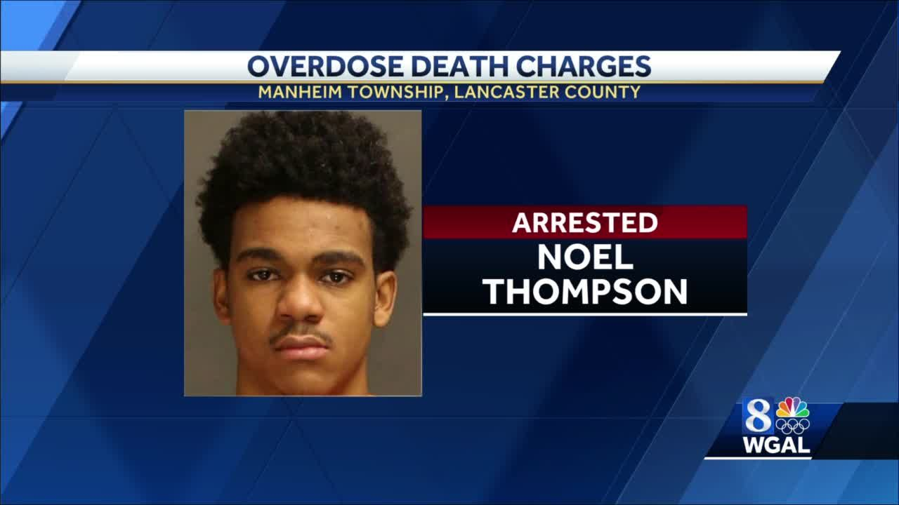 Man charged in overdose death in Lancaster County
