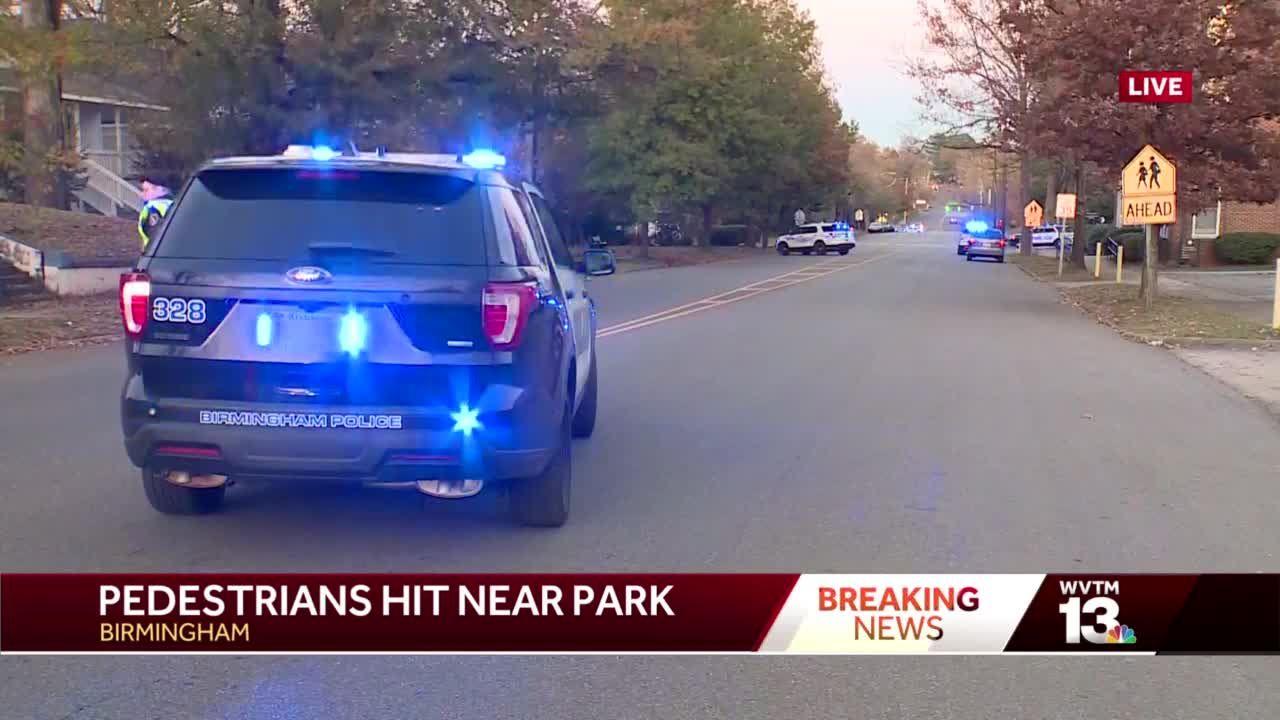 3 pedestrians struck by car in Birmingham