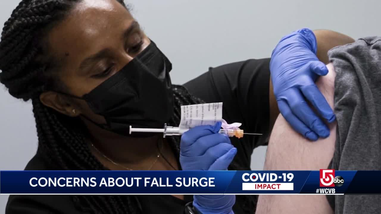 States with low vaccination rates could see fall surge of COVID-19