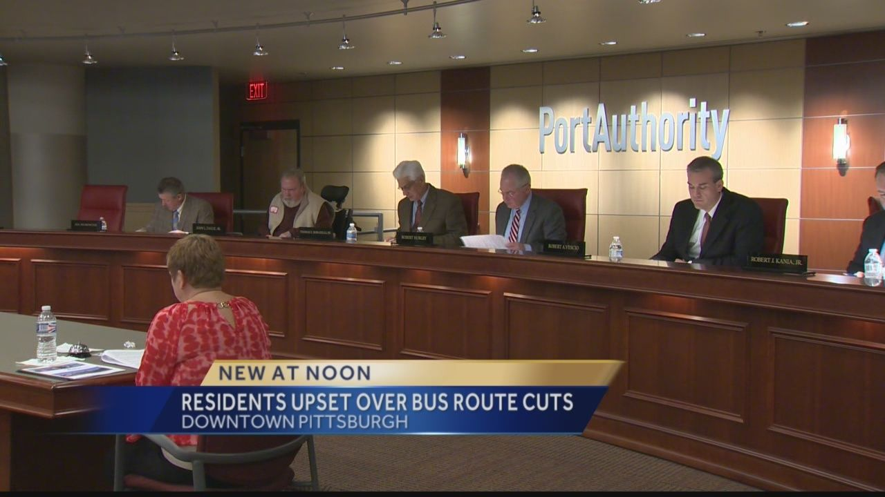 Residents urge Port Authority to reconsider route eliminations