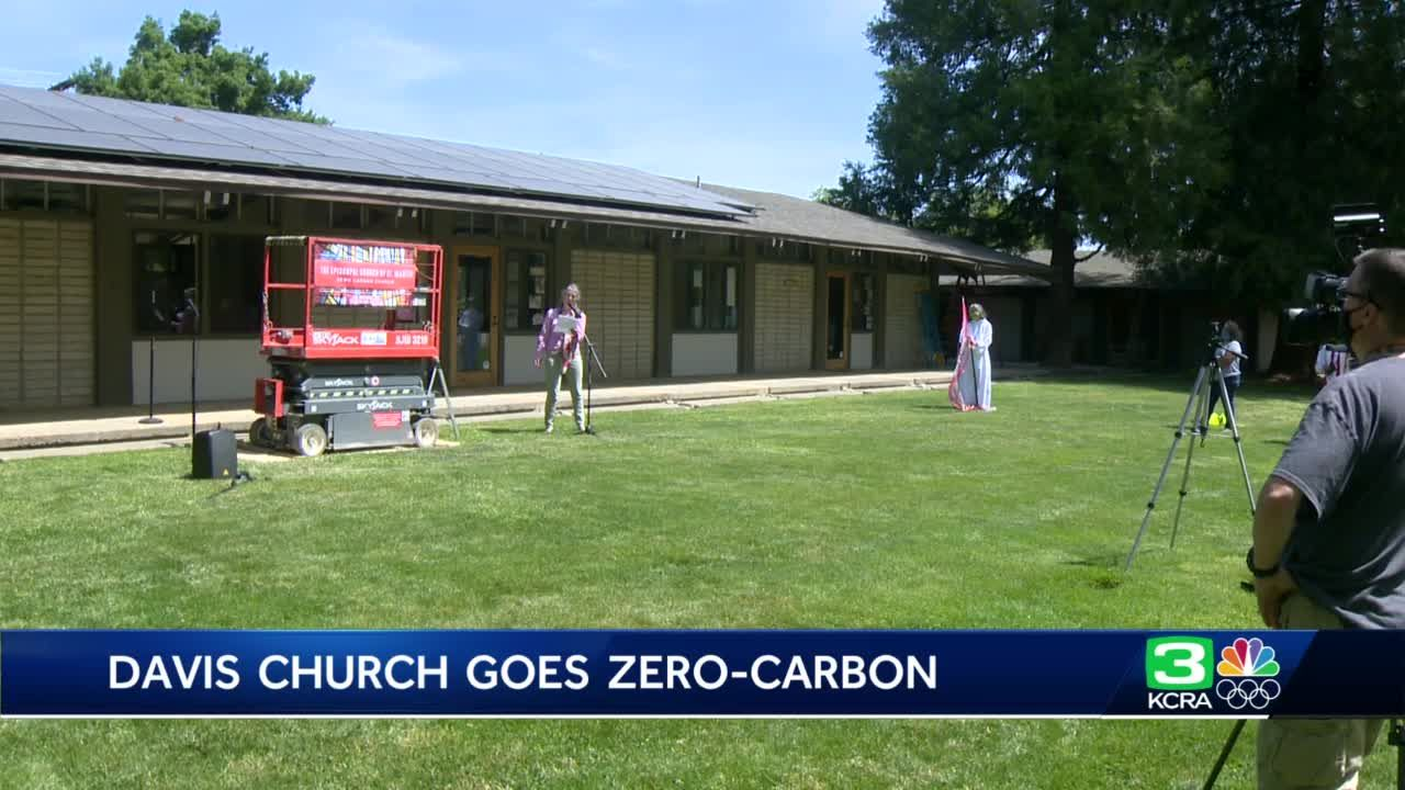 Davis church goes zero-carbon by installing electric appliances, solar panels