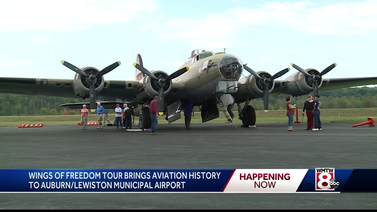 Wings Of Freedom Tour 2020.Wings Of Freedom Tour Lands At Lewiston Municipal Airport