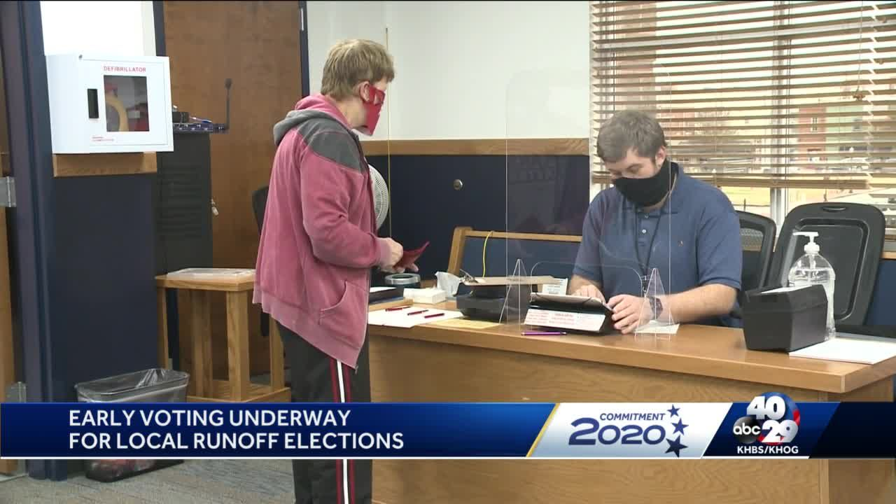Early voting begins for runoff elections in Benton County