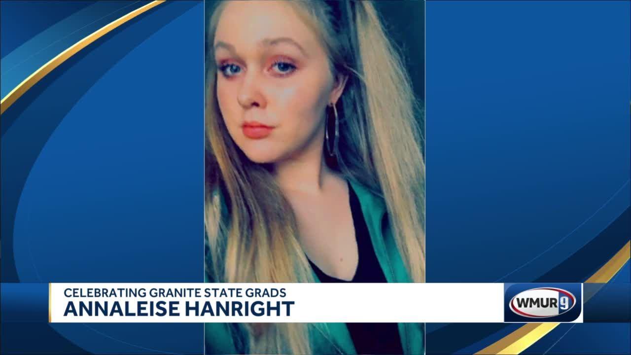 Celebrating New Hampshire Grads: Annaleise Hanright