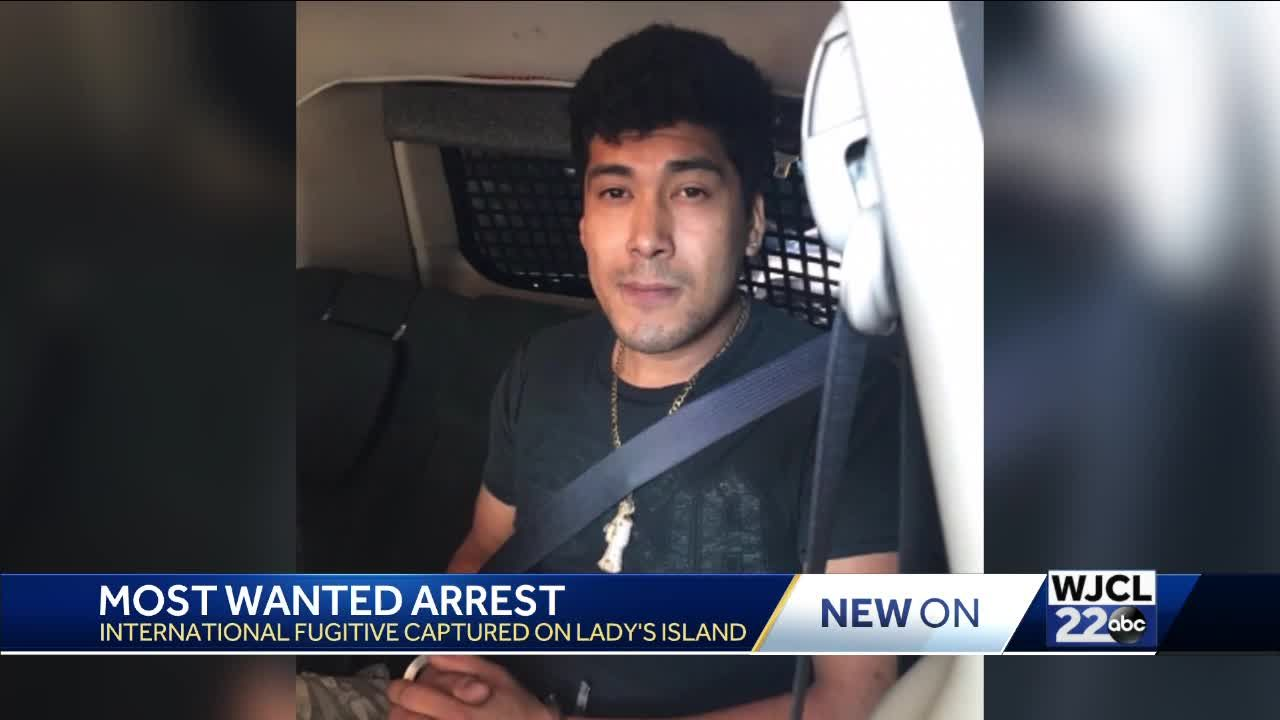 Interpol 'Most Wanted' murder suspect, MS-13 gang member captured in Beaufort County