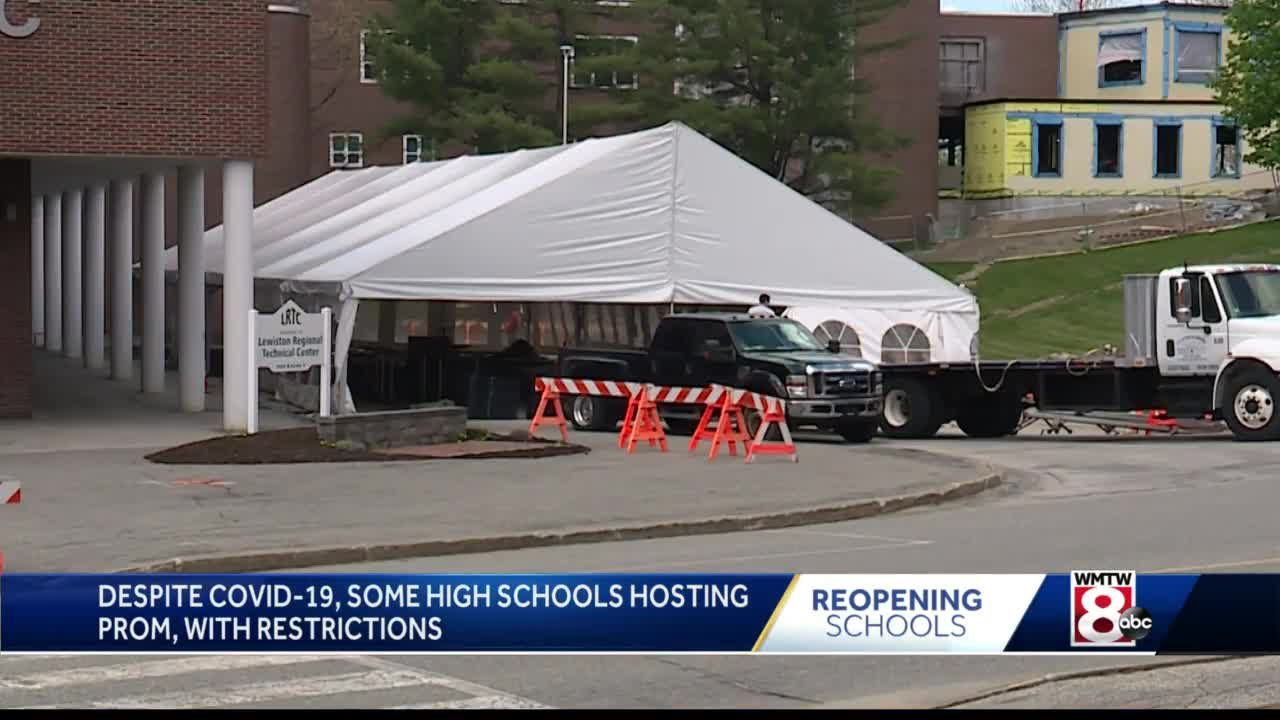 Lewiston, Auburn to hold high school proms this weekend with restrictions in place
