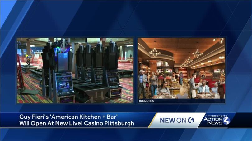 Guy Fieri S Restaurant Is Coming To Live Casino Pittsburgh At Westmoreland Mall