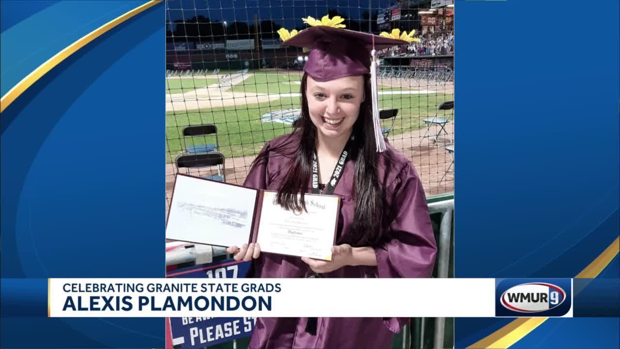 Celebrating Granite State Grads: Alexis Plamondon