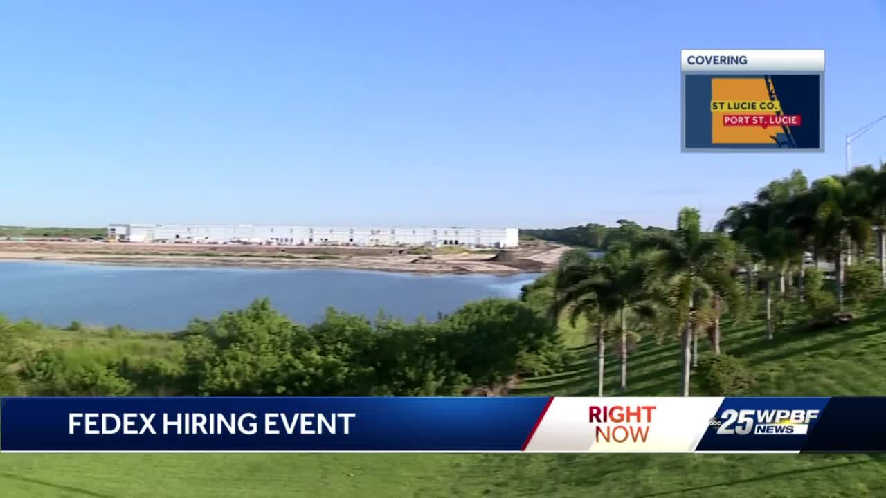 FedEx to hire hundreds of employees ahead of Treasure Coast facility's opening