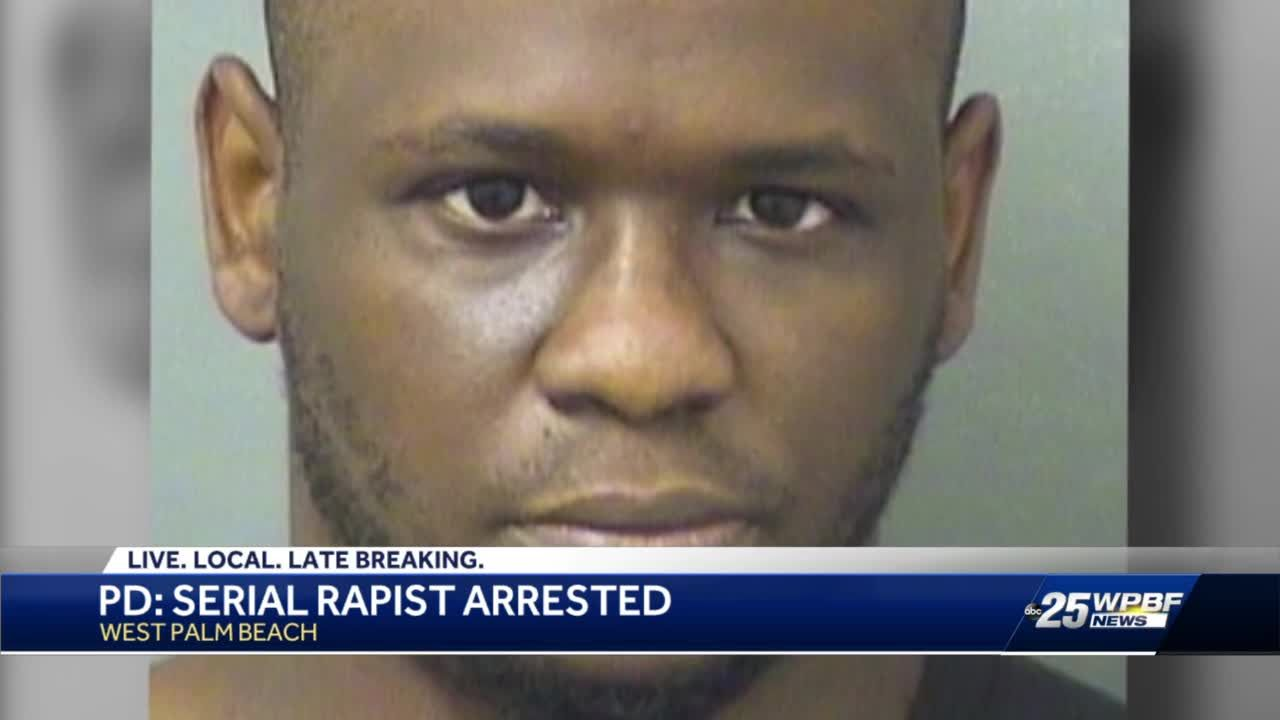 Accused serial rapist arrested in West Palm Beach