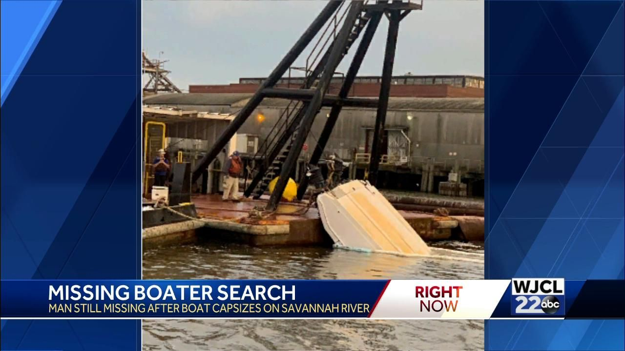 UPDATE: Rescue efforts turn to recovery efforts for missing Savannah River boater