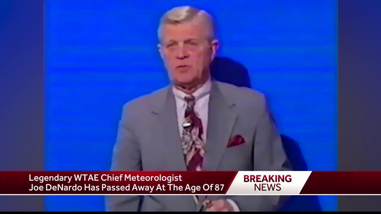 The life and legacy of WTAE chief meteorologist Joe DeNardo