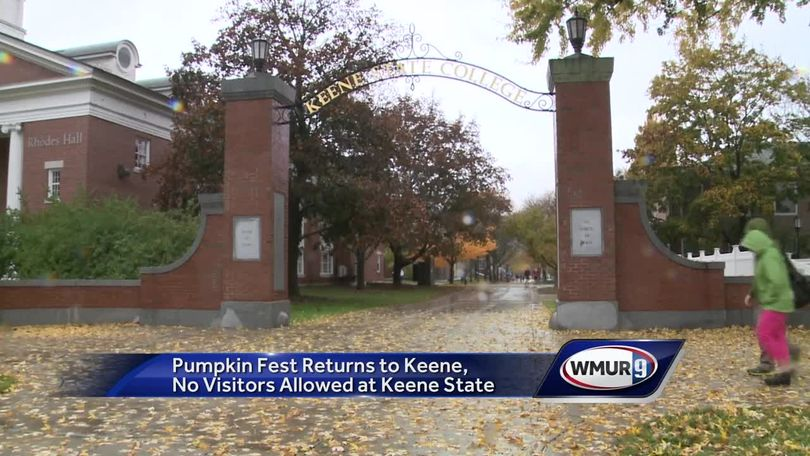 Keene State College restricts visitors ahead of Pumpkin Festival on jackson state campus map, keene state logo, rhodes state campus map, jacksonville state campus map, bridgewater state campus map, florida state campus map, plymouth state campus map, keene state dining, keene state athletics, buffalo state campus map, henderson state campus map, westfield state campus map, worcester state campus map, pensacola state college campus map, new york state campus map, keene state commencement, keene state housing, keene state history, fitchburg state campus map, keene state courses,
