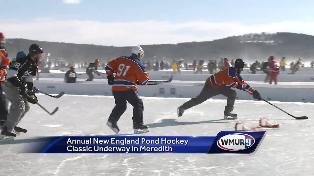 Annual Pond Hockey Tournament Underway