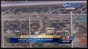 2 killed in crash on I-95 in Volusia County