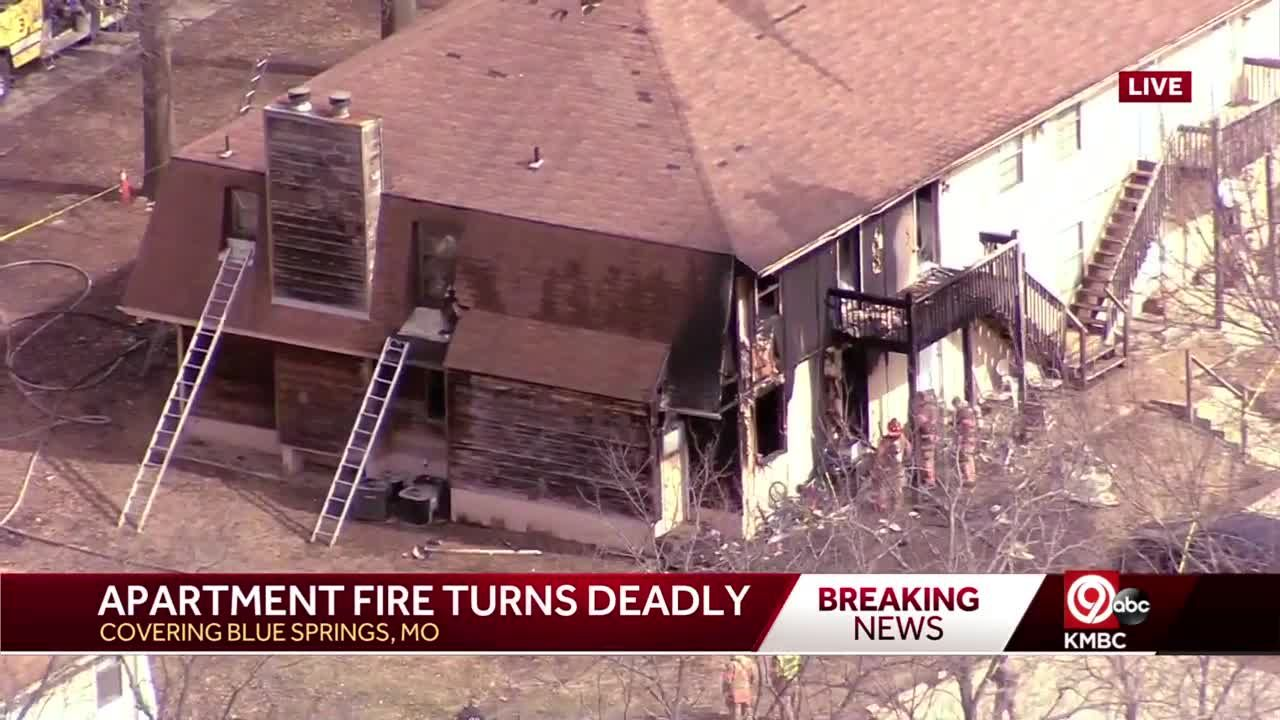 Child killed in Blue Springs, Missouri, apartment fire