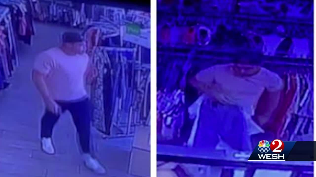 Ocoee police search for peeper spotted at Plato's Closet