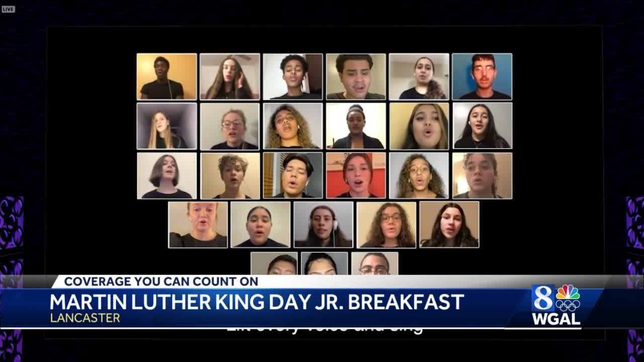 Annual MLK Breakfast held online