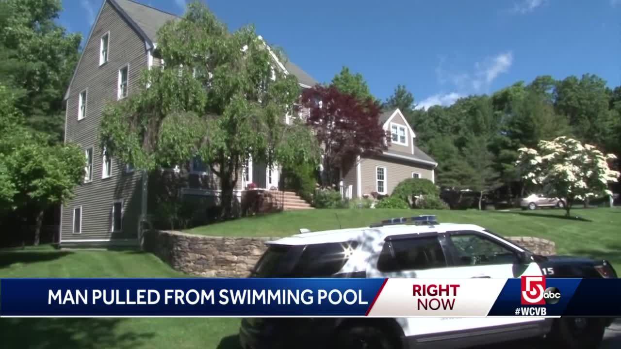 Man pulled from pool in Shrewsbury yard