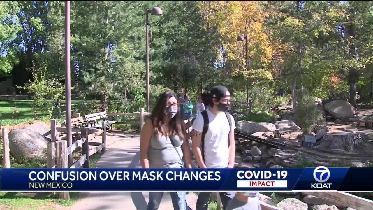Frustration, confusion over mask changes