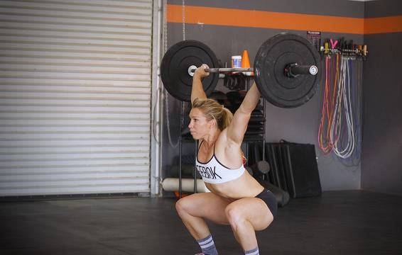 How to Do the Snatch to Overhead Squat