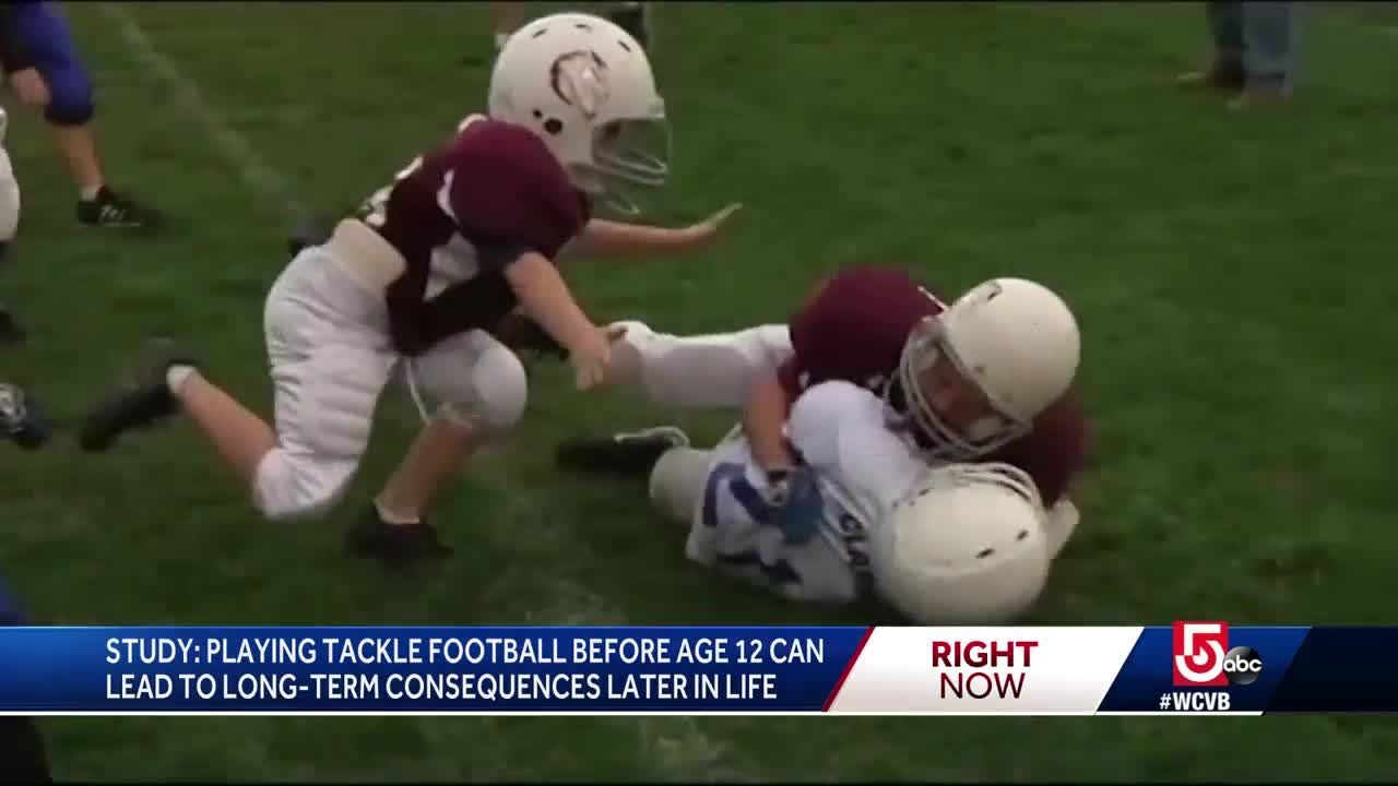 Playing Tackle Football Before 12 >> Study Playing Tackle Football Before 12 Can Lead To Long Term