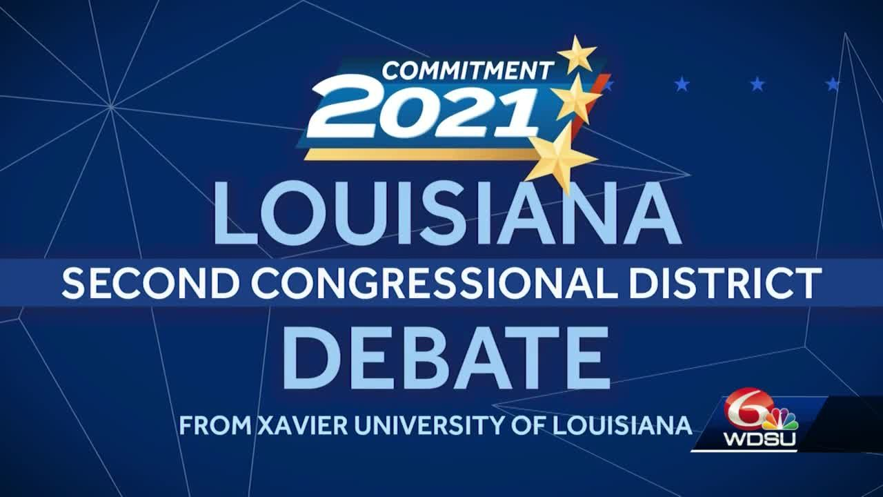 WATCH AGAIN: 2nd Congressional District candidates lean on experience, differences in debate