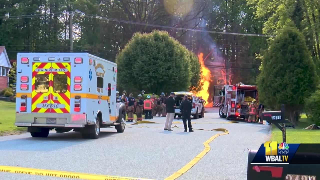 Multiple people injured in Pikesville gas explosion