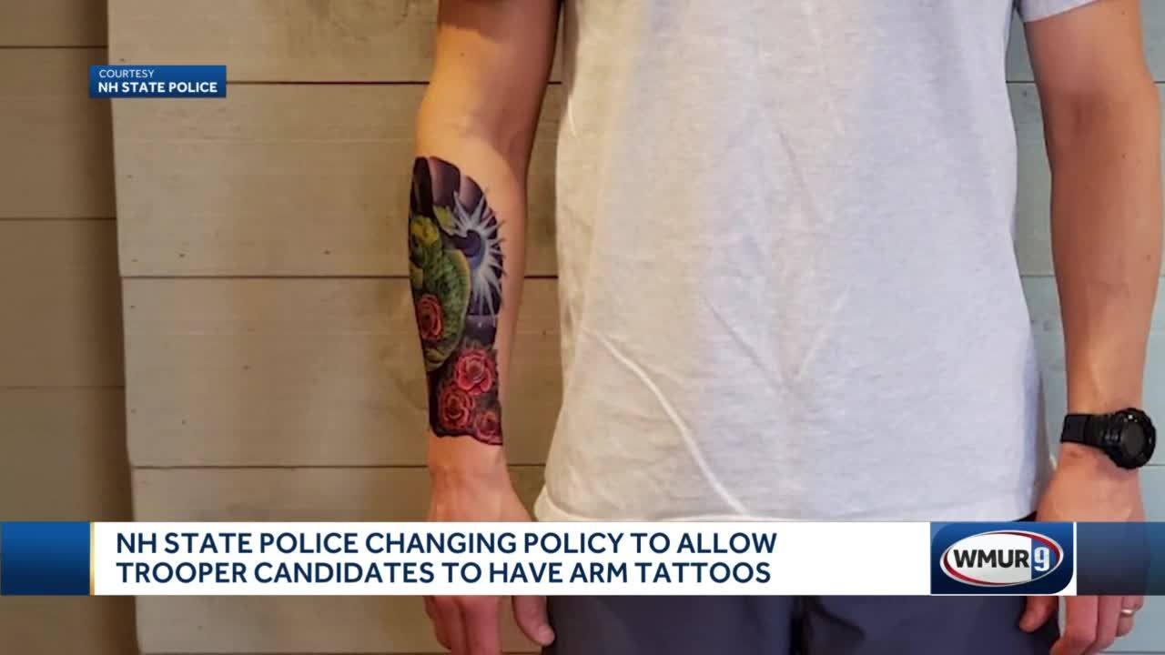 NH state police changes tattoo policy
